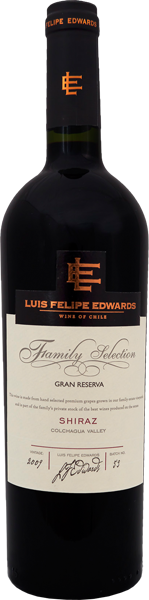 Shiraz Gran Reserva L.F.Edwards